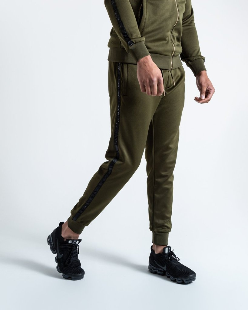 LOMA WHITAKER BOTTOMS - OLIVE/BLACK - Pandemic Fight Gear Inc.