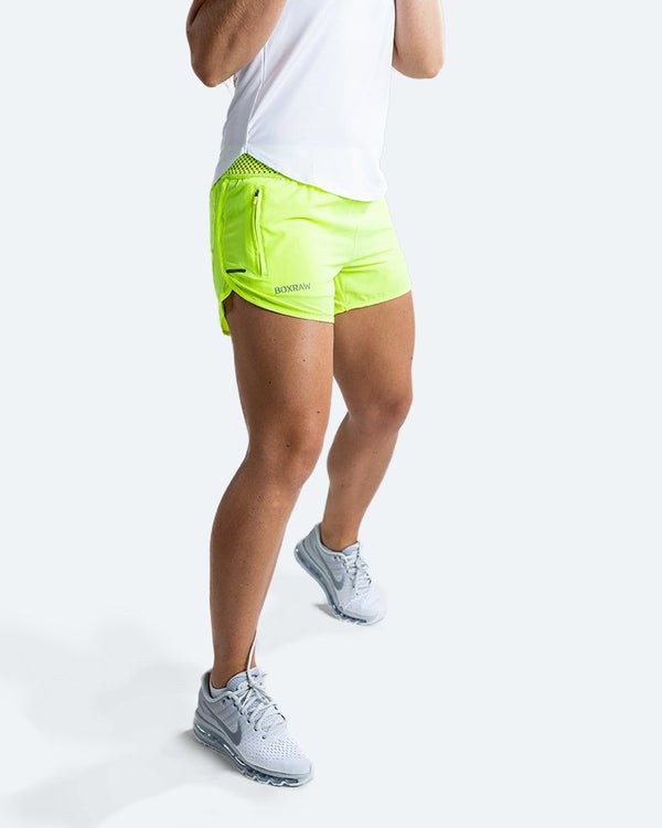 WOMEN'S LAILA SHORTS - YELLOW