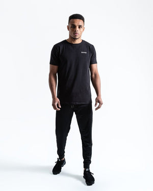 BOXRAW LOGO T-SHIRT - BLACK - Pandemic Fight Gear Inc.