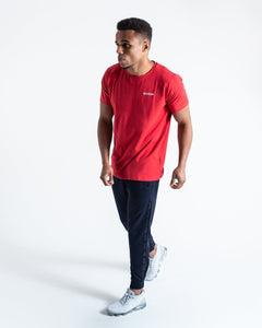 BOXRAW LOGO T-SHIRT - RED