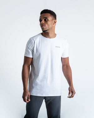 BOXRAW LOGO T-SHIRT - WHITE - Pandemic Fight Gear Inc.