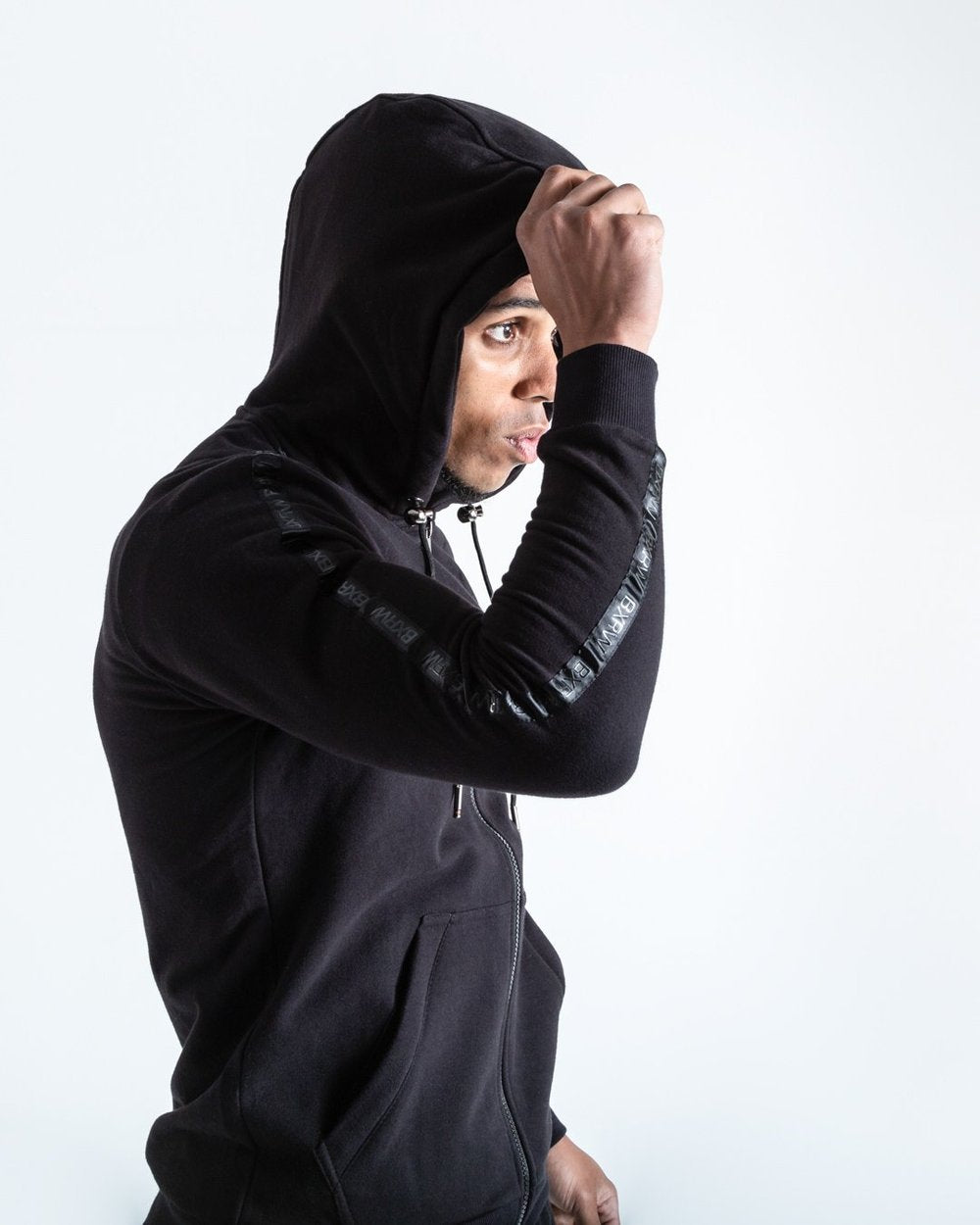 MARCIANO HOODIE - BLACK - Pandemic Fight Gear Inc.