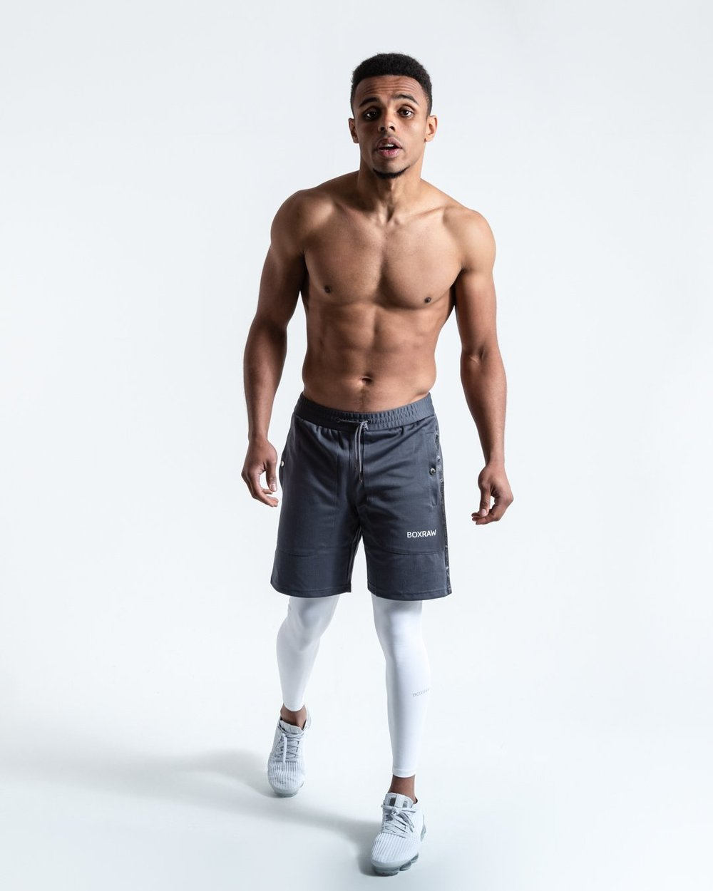 OG PEP SHORTS (2-IN-1 TRAINING TIGHTS) GREY