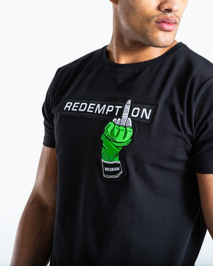 REDEMPTION T-SHIRT - BLACK - Pandemic Fight Gear Inc.