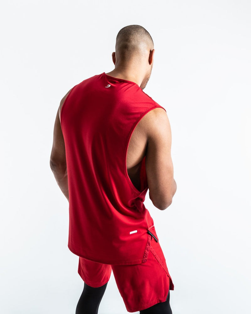 SMRT-TEC MUSCLE TANK - RED