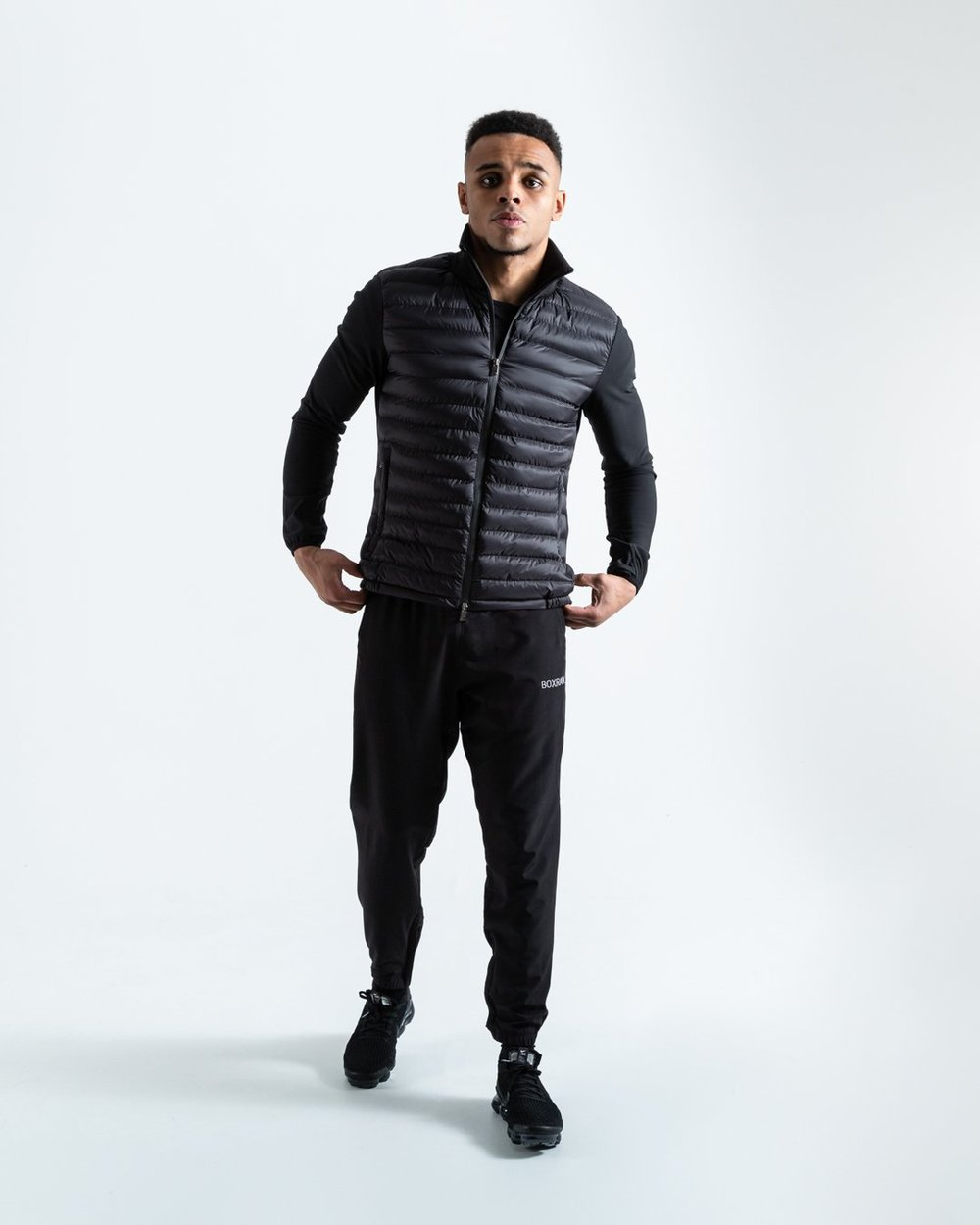TAPIA JACKET - BLACK - Pandemic Fight Gear Inc.