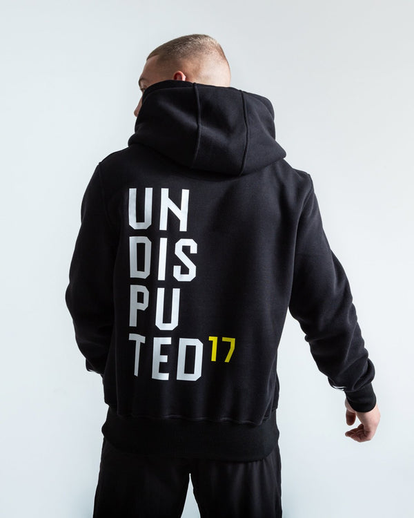 UNDISPUTED17 GRAPHIC HOODIE BLACK