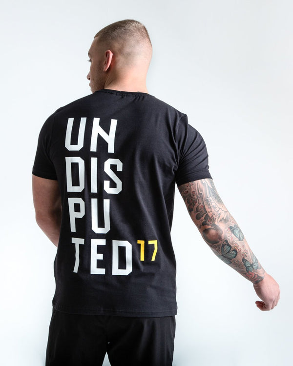 UNDISPUTED17 GRAPHIC T-SHIRT BLACK