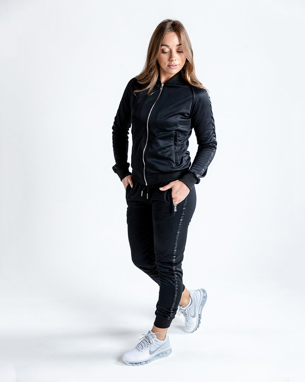 WOMEN'S WHITAKER BOTTOMS - BLACK - Pandemic Fight Gear Inc.