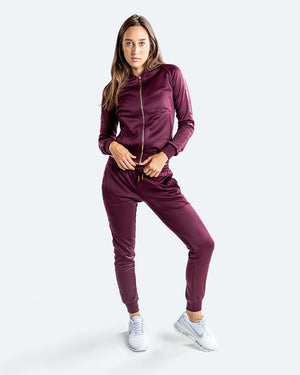 WOMEN'S WHITAKER JACKET - WINE - Pandemic Fight Gear Inc.