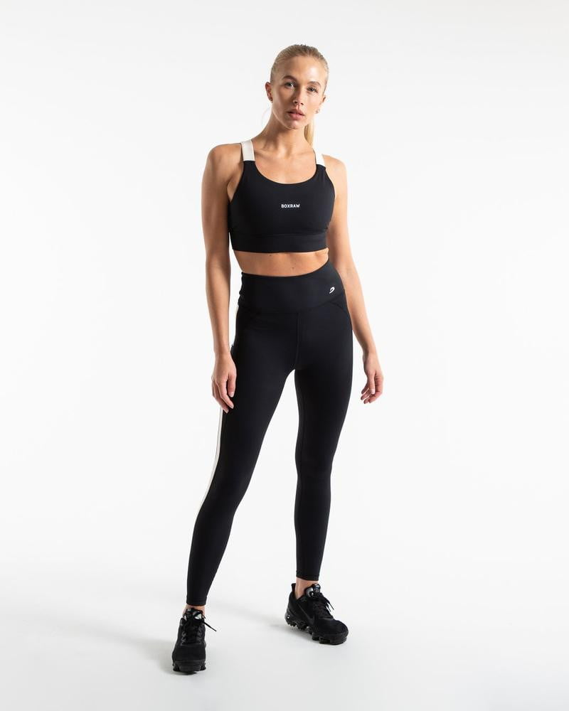 ALICIA LEGGINGS - BLACK.