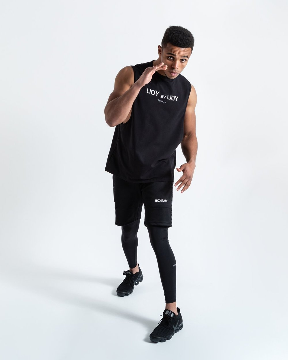 YOU VS. YOU MUSCLE TANK - BLACK - Pandemic Fight Gear Inc.