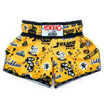 ROCK'N'ROLLA GOLD CARBONFIT SHORTS - Pandemic Fight Gear Inc.