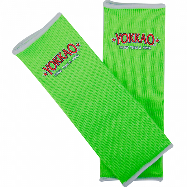 YOKKAO ANKLE GUARDS NEON GREEN