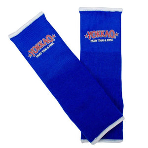 YOKKAO ANKLE GUARDS BLUE - Pandemic Fight Gear Inc.