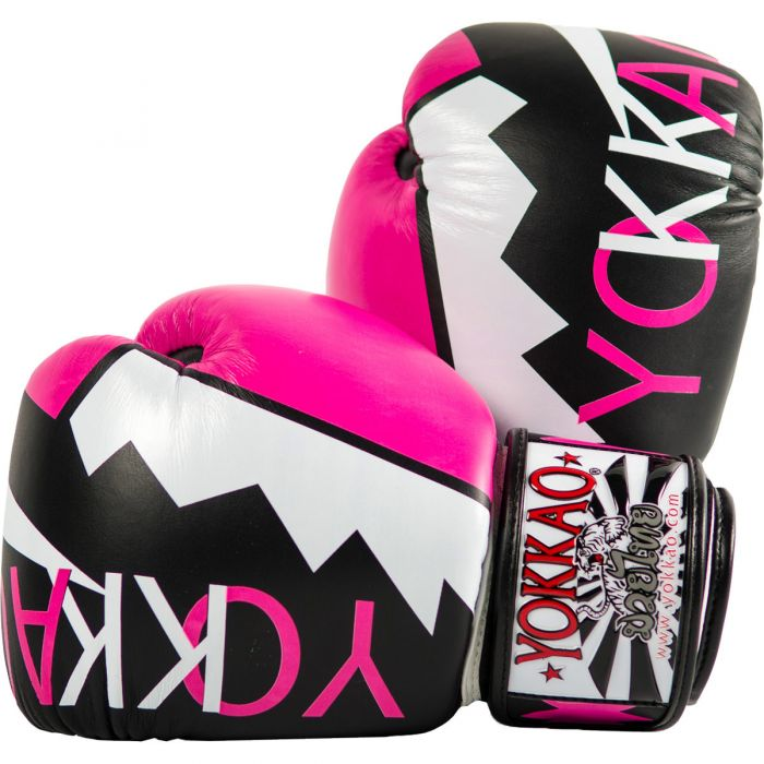 YOKKAO FROST PINK BOXING GLOVES - Pandemic Fight Gear Inc.