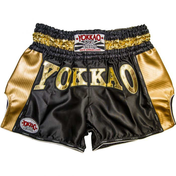 CARBON GOLD EDITION MUAY THAI SHORTS