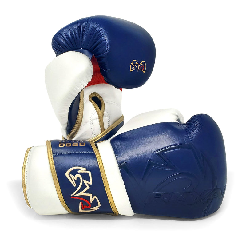RIVAL RB80 IMPULSE BAG GLOVES NAVY.
