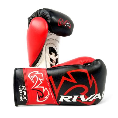 RIVAL RFX-GUERRERO PRO FIGHT GLOVES - HDE-F BLACK/RED/WHITE