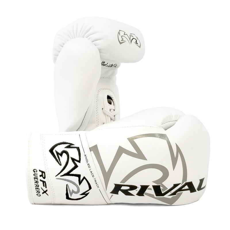RIVAL RFX-GUERRERO PRO FIGHT GLOVES - HDE-F WHITE.