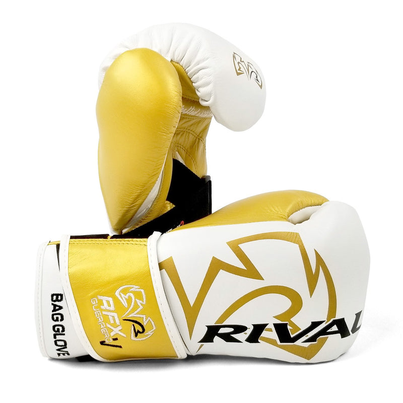 RIVAL RFX-GUERRERO-V BAG GLOVES - HDE-F WHITE/GOLD.