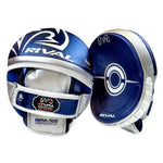 RIVAL RPM100 PROFESSIONAL PUNCH MITTS - BLUE/SILVER