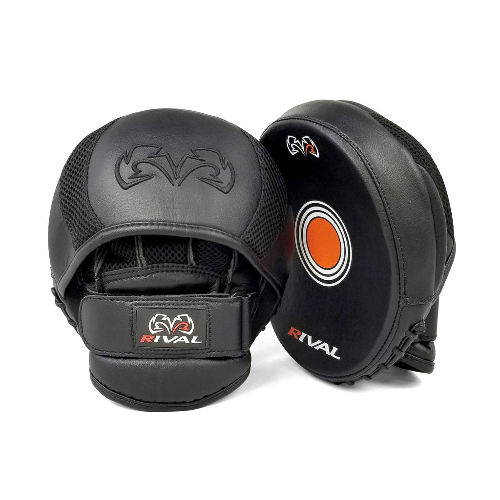 RIVAL RPM11 EVOLUTION PUNCH MITTS - BLACK