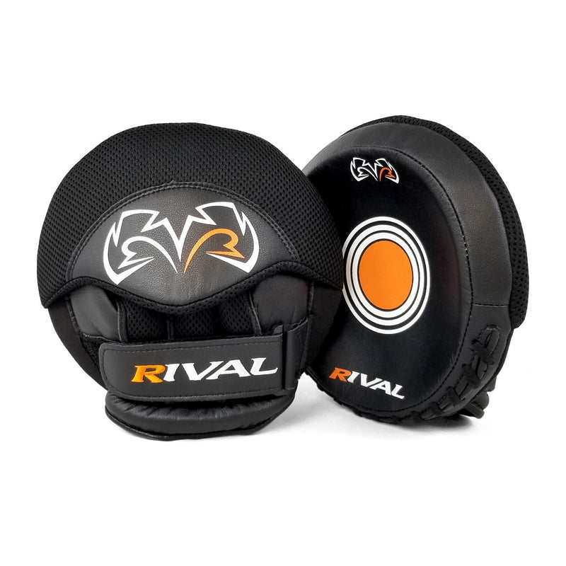 RIVAL RPM5 PARABOLIC PUNCH MITTS - BLACK.