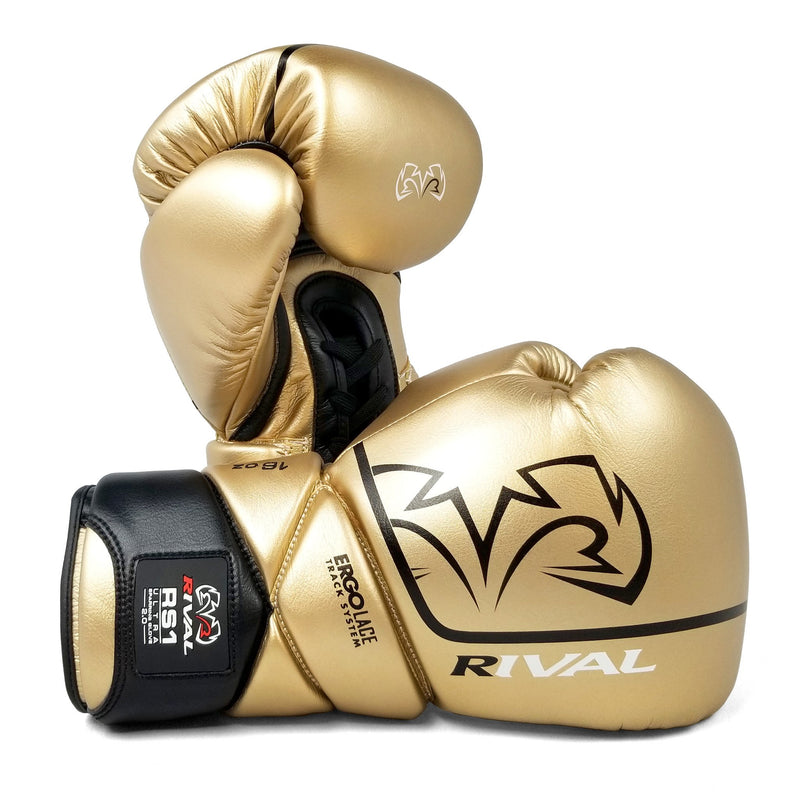 RIVAL RS1 ULTRA SPARRING GLOVES 2.0 - GOLD