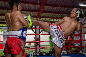 HURRICANE CARBON MUAY THAI SHORTS - Pandemic Fight Gear Inc.