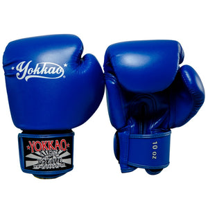 VERTIGO BLUE MUAY THAI GLOVES