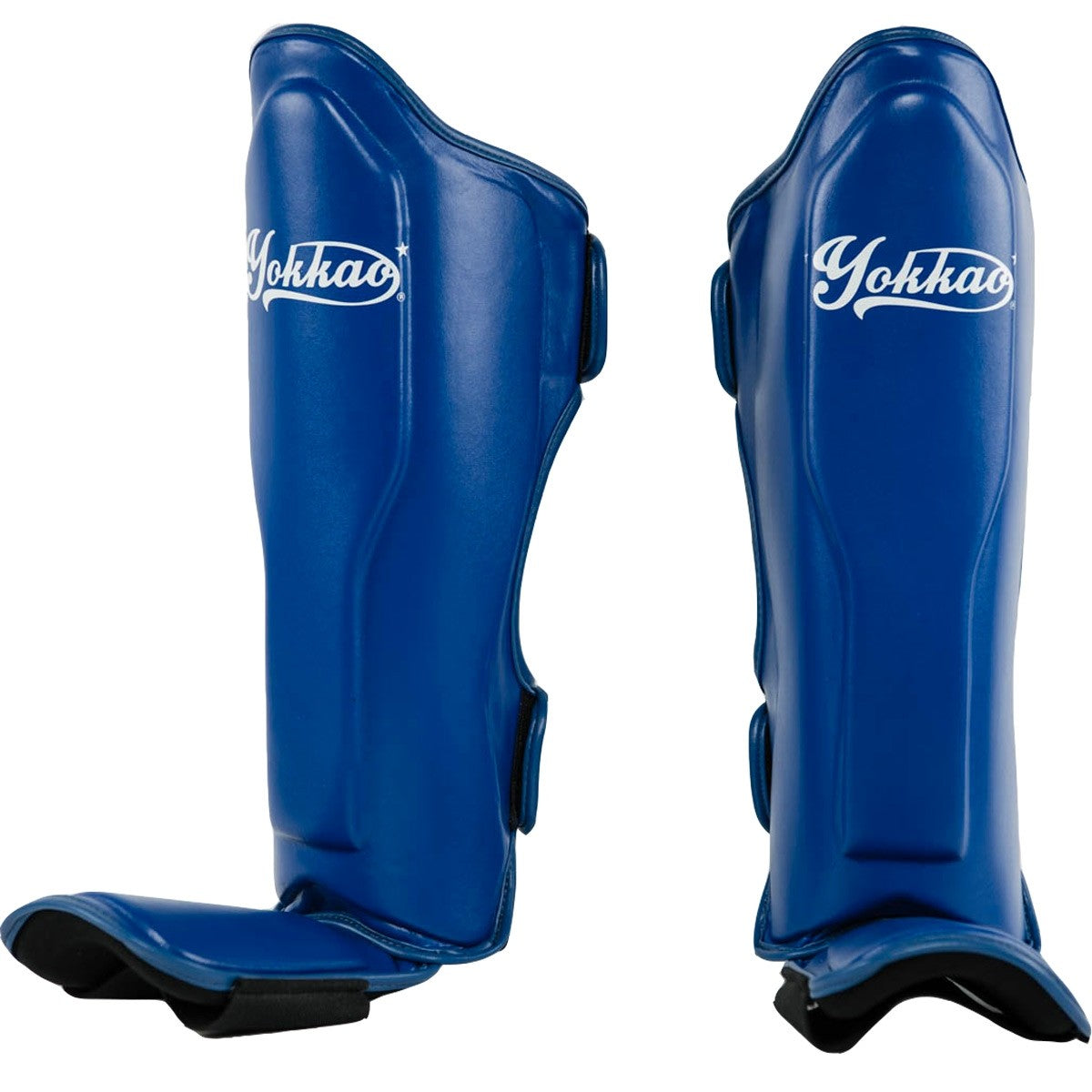 VERTIGO BLUE SHIN GUARDS - Pandemic Fight Gear Inc.