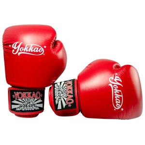 VERTIGO RED MUAY THAI GLOVES - Pandemic Fight Gear Inc.