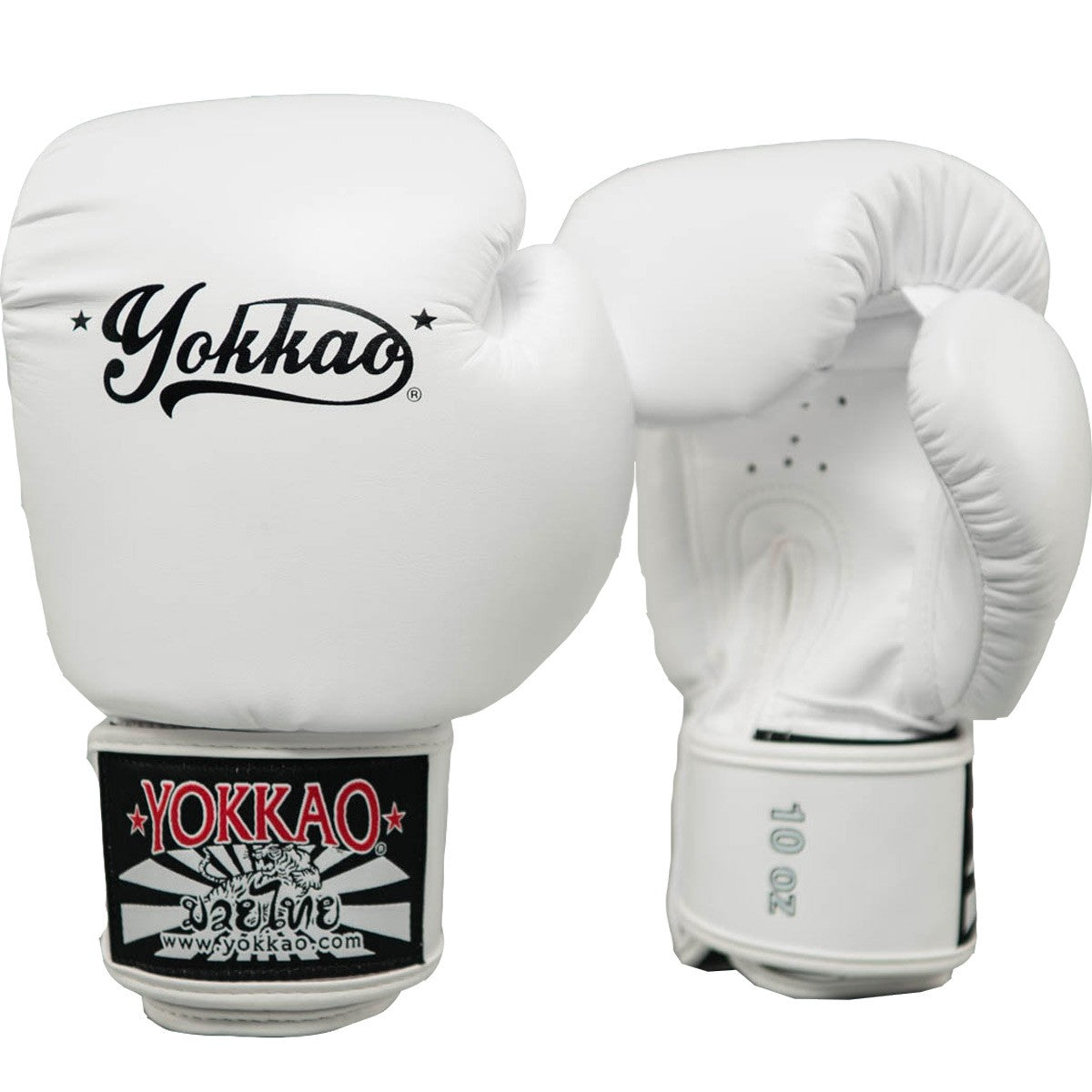 VERTIGO WHITE MUAY THAI GLOVES - Pandemic Fight Gear Inc.