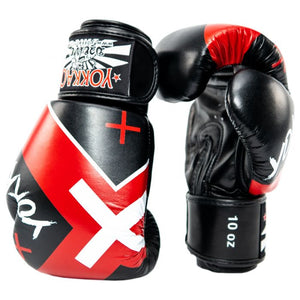 X-BLACK MUAY THAI BOXING GLOVES - Pandemic Fight Gear Inc.