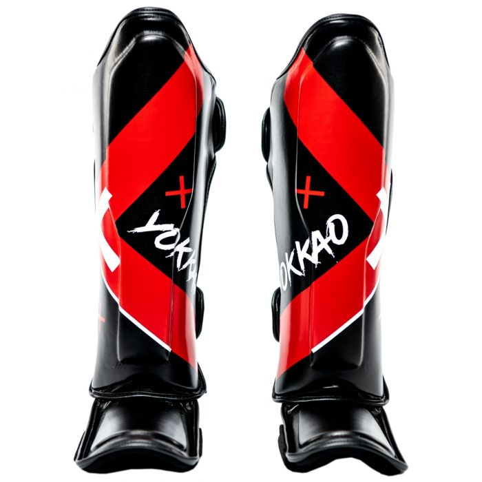 X-BLACK SHIN GUARDS - Pandemic Fight Gear Inc.