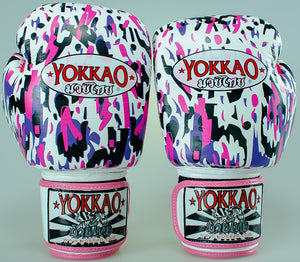 YOKKAO APACHE PINK BOXING GLOVES - Pandemic Fight Gear Inc.
