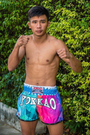 YOKKAO CARBONFIT TECHNO SHORTS - Pandemic Fight Gear Inc.