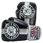 YOKKAO OFFICIAL FIGHT TEAM GLOVES SILVER EDITION