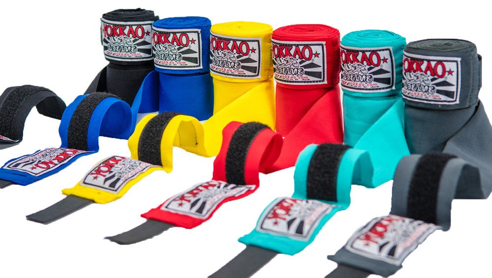 YOKKAO PREMIUM HAND WRAPS GREY - Pandemic Fight Gear Inc.