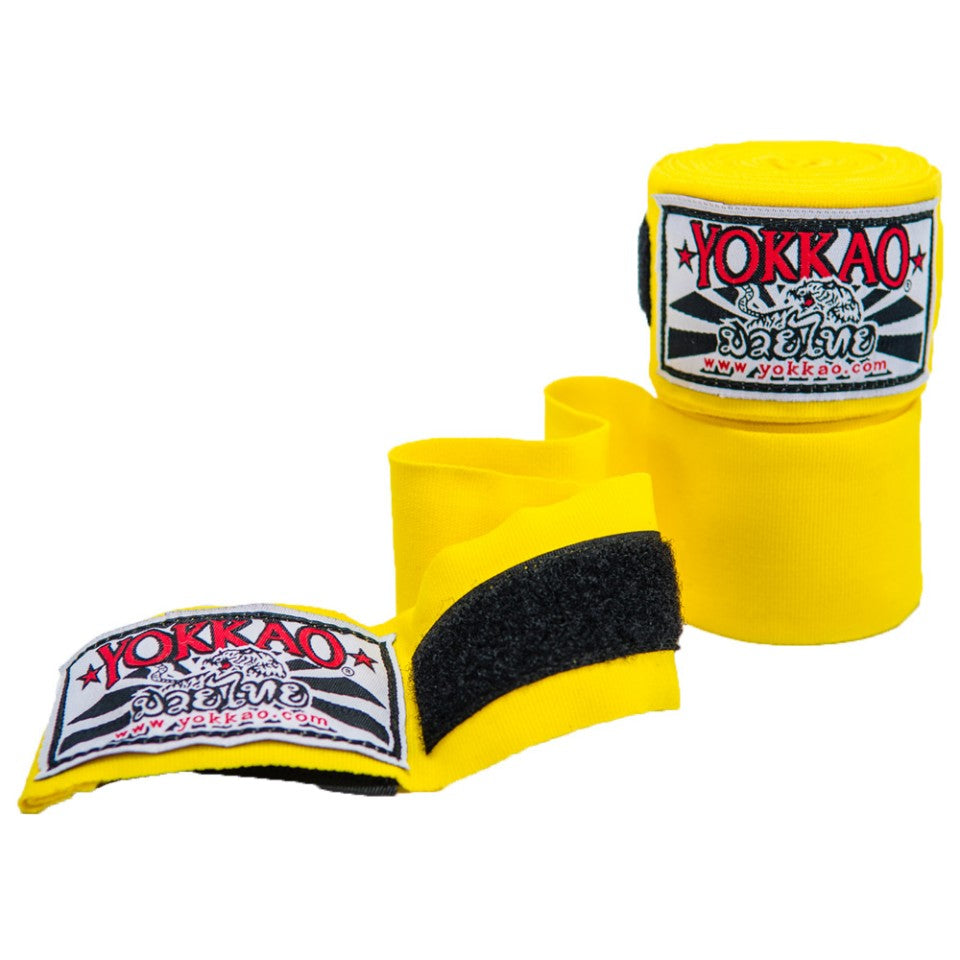 YOKKAO PREMIUM HAND WRAPS YELLOW - Pandemic Fight Gear Inc.