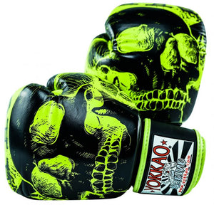 YOKKAO SKULLZ LIMITED EDITION MUAY THAI BOXING GLOVES - Pandemic Fight Gear Inc.