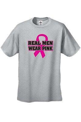 Breast Cancer Awareness Real Men Wear Pink Unisex T Shirt