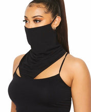 Load image into Gallery viewer, Face Mask Scarf, Scarf Face Mask, Neck Gaiter With Ear Loop