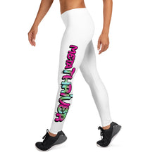Load image into Gallery viewer, MetaThriver Leggings - White