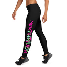 Load image into Gallery viewer, MetaThriver Leggings - Black