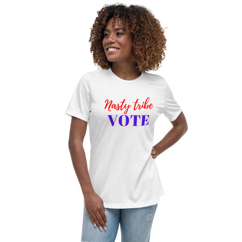Nasty Tribe Vote Women's Relaxed T-Shirt