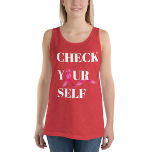 Check Yourself Unisex  Tank Top