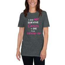 Load image into Gallery viewer, I Survived Cancer T-Shirt