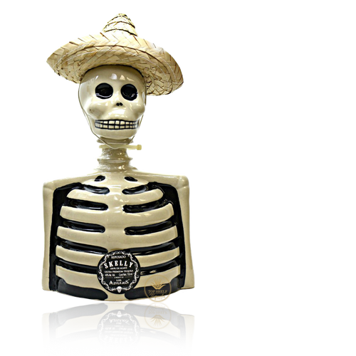 Los Azulejos Skelly Reposado Tequila (750ml / 40%)